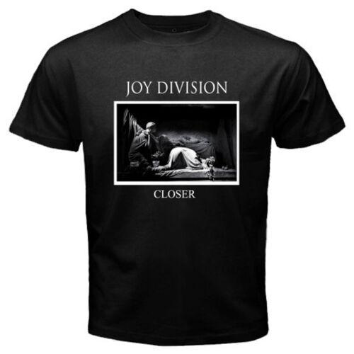 New JOY DIVISION *Closer Punk Rock Band Legend Men/'s Black T-Shirt Size S to 3XL