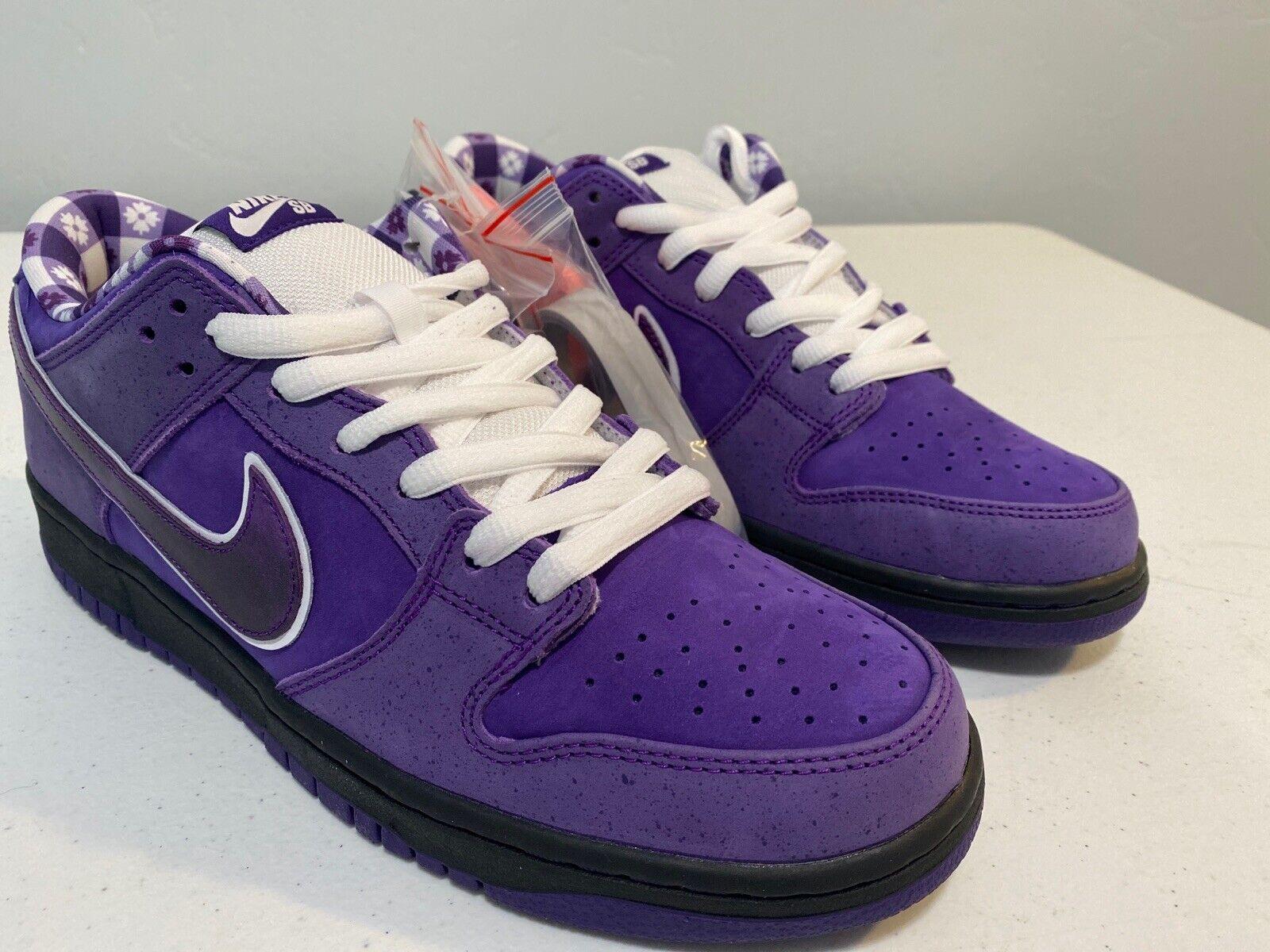 Nike Dunk Low SB Purple Lobster Size 10