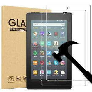 2-Pack-Tempered-Screen-Protector-For-Amazon-Kindle-fire-7-034-HD-8-034-HD-10-034-Tablet
