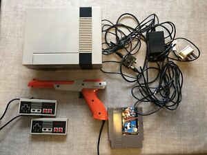 Nintendo NES Console, PAL, Excellent Working Condition With Mario/Duck Hunt