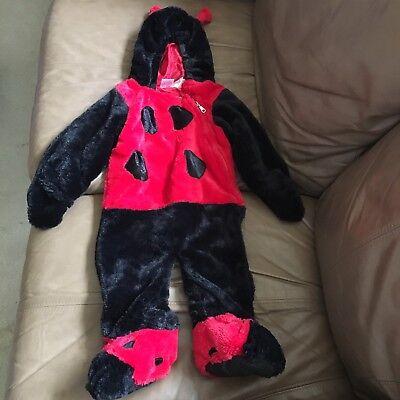Coccinella Costume Halloween Super Morbido Neonato 9-18 Mesi Celebrazione