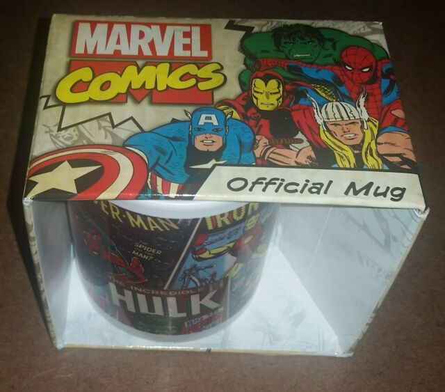 Classic Covers Mug Marvel Comics Ceramic Cup Official Gift Mg23444 For Sale Online