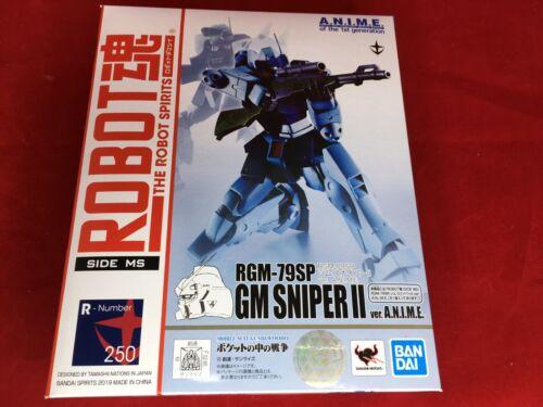 lato Miss Il ROBOT SPIRITS GUNDAM 0080 RGM-79 SP JIM Sniper II