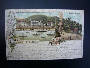 Litho-Postkarte-Gruss-aus-Eberbach-a-N-1901