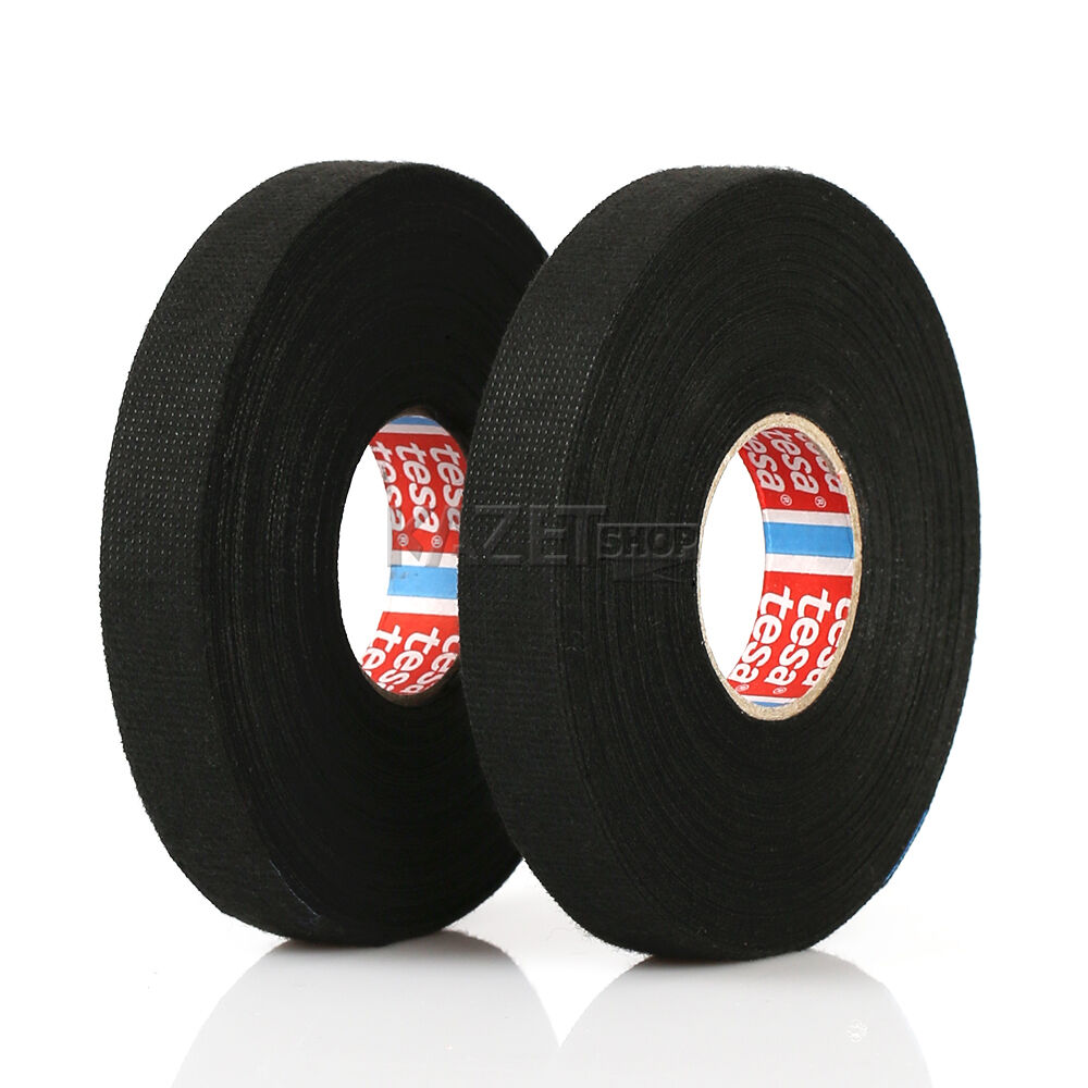 Building Materials Supplies Business Office Industrial Wiring Loom Harness Adhesive Cloth Fabric Tape New Tesa 51608 25m X 50 25