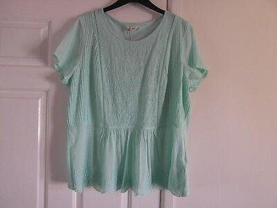 m&s nwt a size 16 and mint mix in colour top