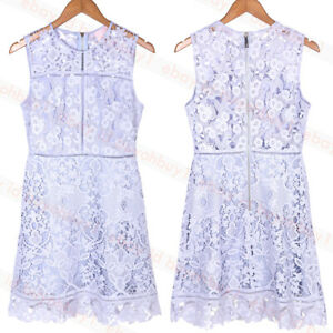 Ted-Baker-Primrose-Lace-A-line-Tunic-Dress-Pale-Blue