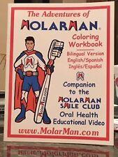 El Hombre de La Muela Libro de Color Educacional Dental