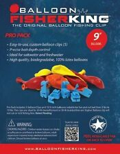 """Balloon Fisher King  401 Multi-Clip Pro Pack with 9""""Balloons,Clips 10ct"""