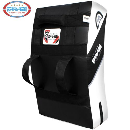 Curved Kick shield kick strike pad punch bag focus boxing MMA thai pad by Farabi