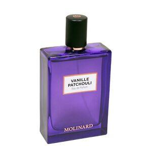 Patchouli Femme 75ml Molinard Vanille Eau Sur Spray Détails De Parfum Women Sans Vapo Boite eH9EIWD2Y