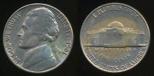 United-States-1961-D-5-Cents-Jefferson-Nickel-Uncirculated