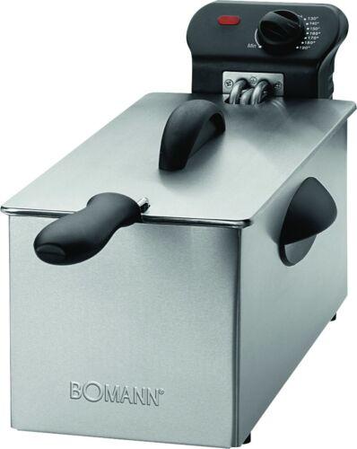 Friggitrice professionale Bomann FR 2264 inox friggitrici 3 LT 2000 W Rotex