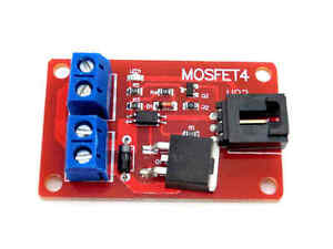 MOSFET Switch Module for Arduino Electronic Switch Circuit 1 Channel MOSFET4 Button IRF540