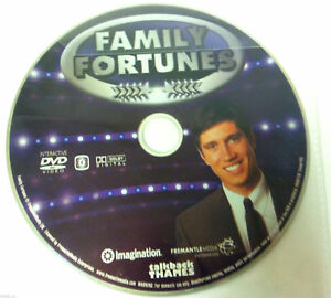 Family-Fortunes-Interactive-DVD-DISC-ONLY-in-Plastic-Sleeve