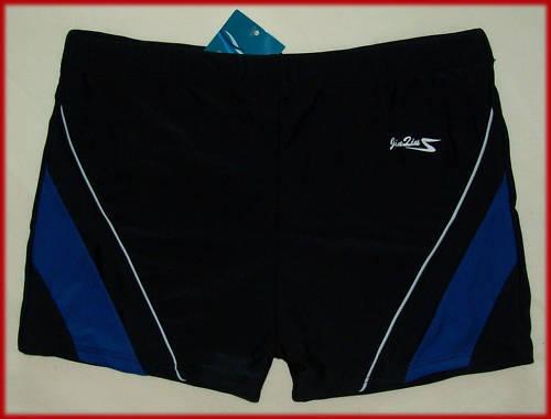 NEW MENS or BOYS SWIM SHORTS Sz XXL 95 cm waist TRUNKS SWIMWEAR Black Togs