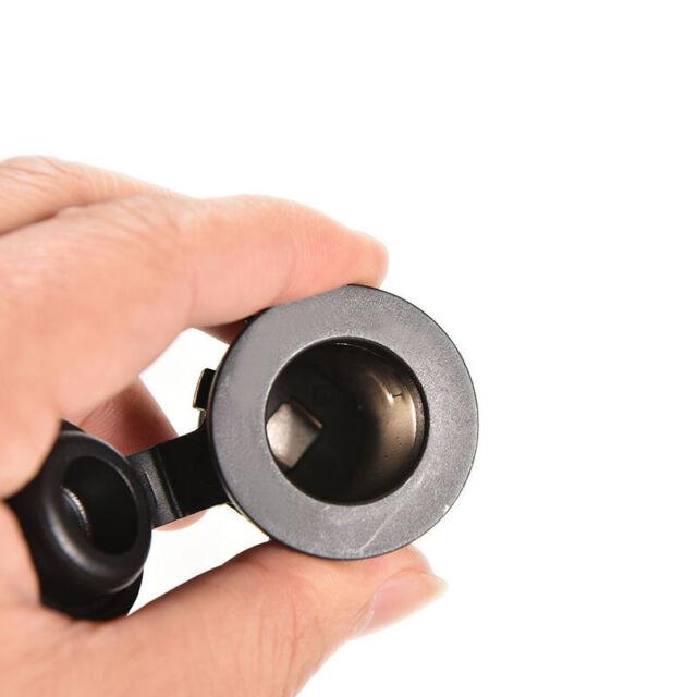 1pc UV Cigarette Lighter Socket Power Plug Outlet 12V Waterproof Car Motorcycle