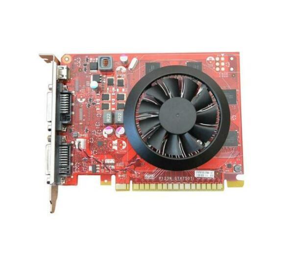 Sxgyubt Independent GTX750Ti Cartes graphiques de jeu DDR5 GTS450 PCI Express 2.0 pour ordinateur de bureau GTX750Ti 2 Go