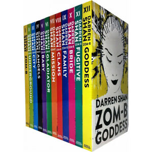 Darren-Shan-Zom-B-series-12-Books-Collection-Set-Goddess-Angels-Clans-Paperback