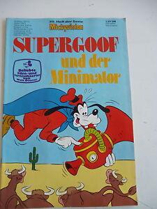 9 - 1 x Comic Walt Disney Mickyvision Nr 1976 Zustand 2