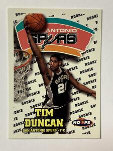 Tim-Duncan-1997-Hoops-RC-San-Antonio-Spurs-Future-HOF-166-NM-MT