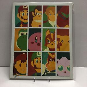 Nintendo-Mash-Up-8x10-Art-Print-2000-Artist-Signed-Bam-Box-Exclusive