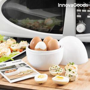 Cuecehuevos-para-Microondas-con-Recetario-Boilegg-InnovaGoods-InnovaGoods