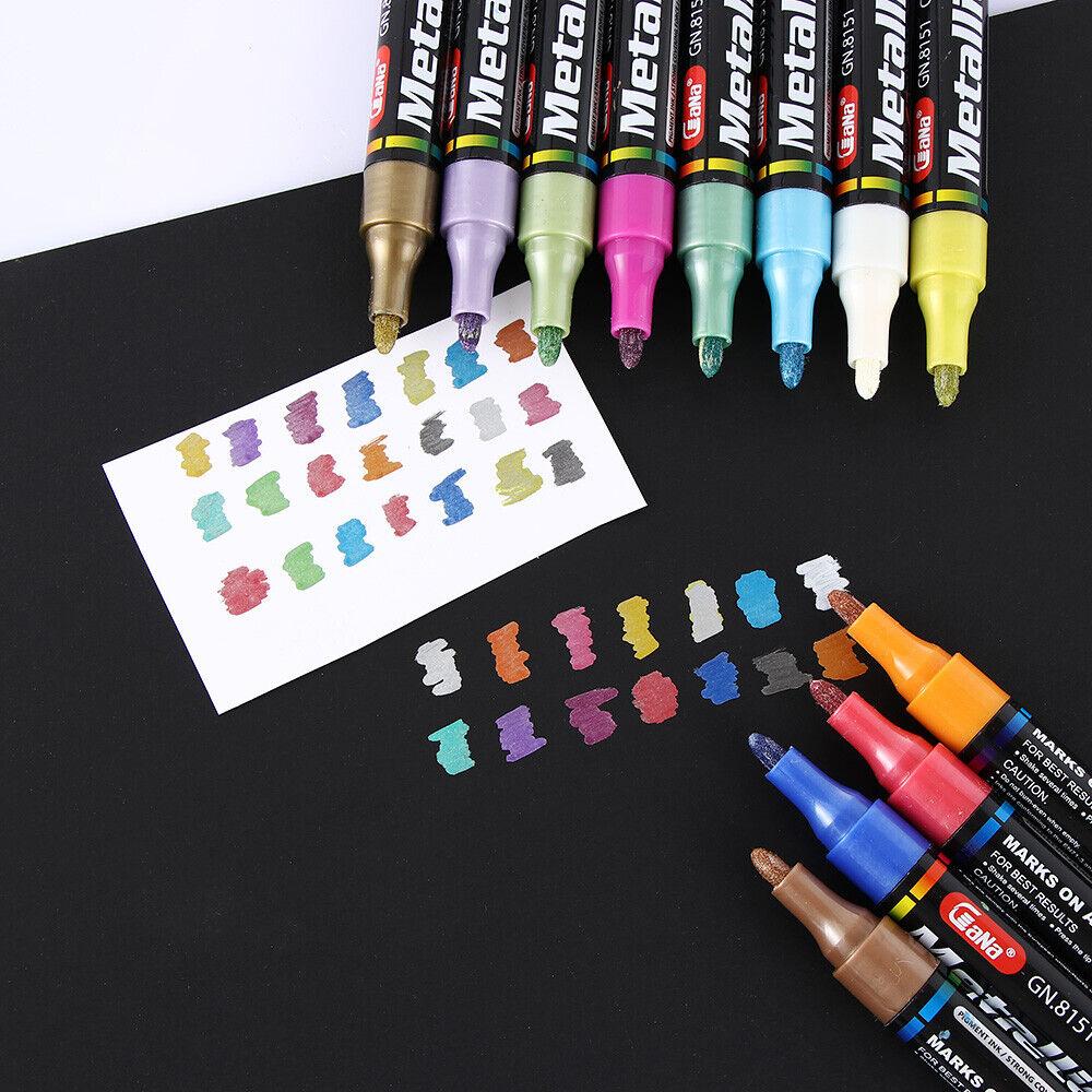 Wood Rubber Metal Marker Oil Pen Paint Tire
