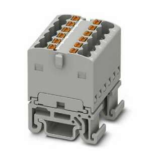 Phoenix-Contact-PTFIX-12X1-5-NS15A-GY-Power-Distribution-Block-DIN-Rail