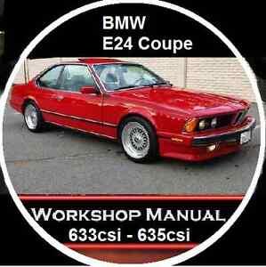 bmw 633csi 635csi m6 e24 coupe 525 528 535 e28 sedan workshop repair rh ebay com au BMW Manual Transmission 2015 BMW M6 Owner's Manual