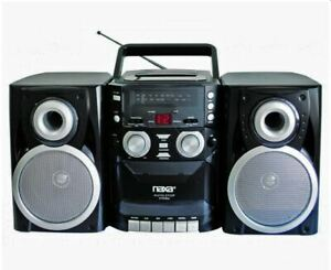 Naxa-Portable-CD-Player-Boombox-with-AM-FM-Stereo-Radio-amp-Cassette-Recorder