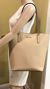 d758ffa8eb87 Image is loading Michael-Kors-MK-EMRY-LARGE-Convertible-Leather-Tote-