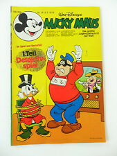1x Comic - Micky Maus - inkl. Beilage - Jahrgang 1978 - Nr. 18)