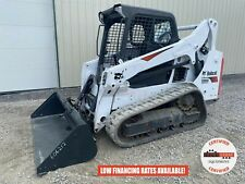 2018 Bobcat T590 Track Loader Orops Aux Hyd Handfoot Controls 862 Hours