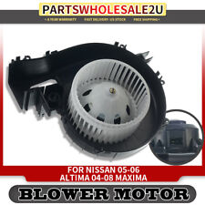 Front Heater AC Condenser HVAC Blower Motor Assembly w//Fan Cage For 02-04 Altima