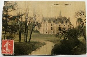 768-Antique-Postcard-Cleres-the-Castle-7