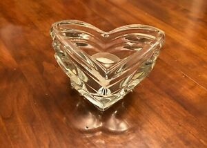 Mikasa-Crystal-Art-Deco-Candle-Votive-Holder-Made-in-Germany-New-Candle-4-1-2-034