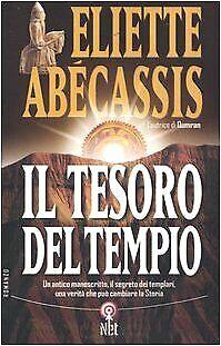 tesoro del tempio abecassis 9788851521806