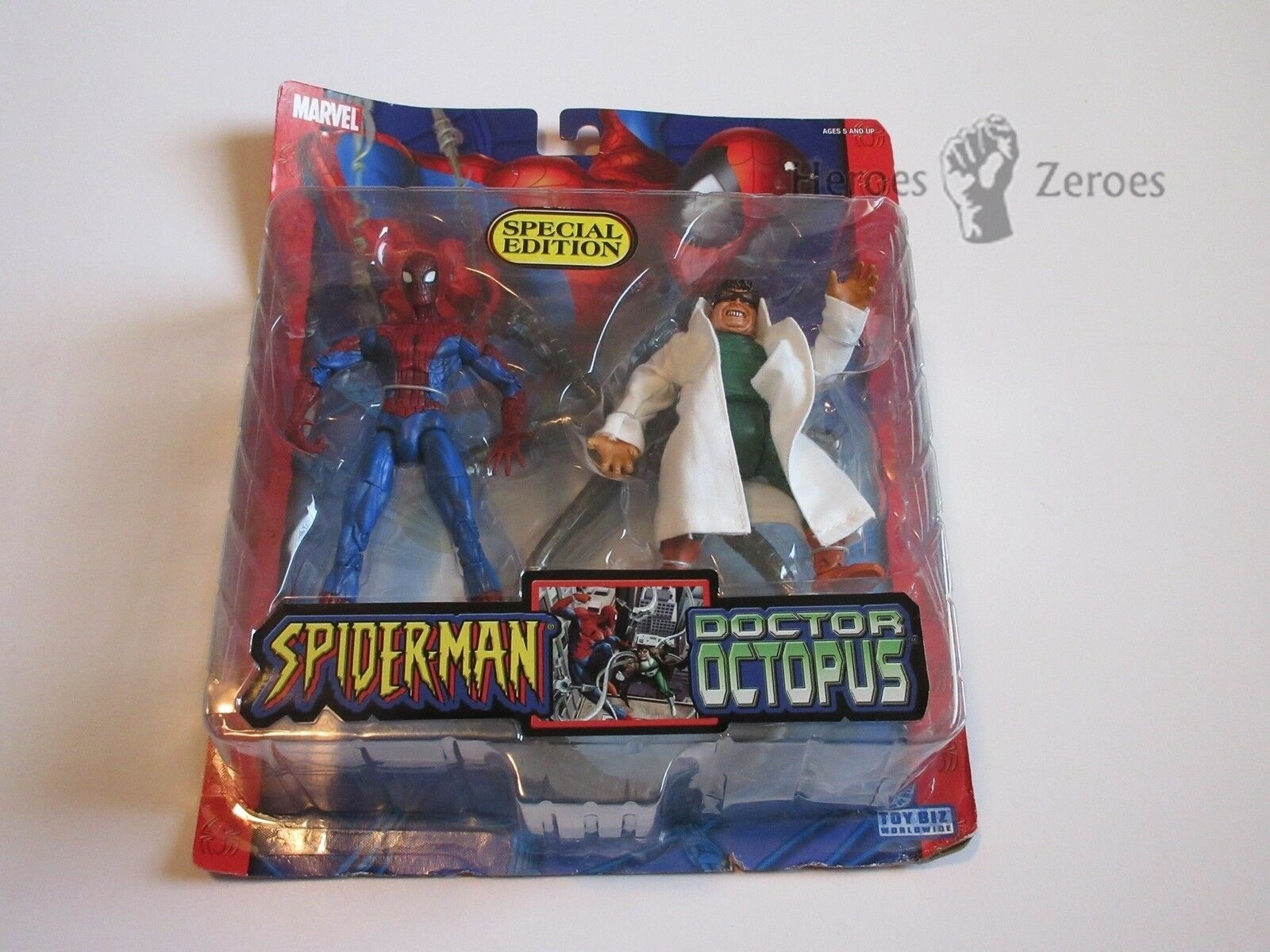 Marvel Legends Spider-Man Classics SPIDER-MAN vs. DOCTOR OCTOPUS Special Edition