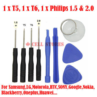 Professional Cell Phone Accessory Kits Compatible with Nokia//LG//Sony//HTC Etc Professional Repair Tool Open Tool 25mm T4 Hex Tip Socket Screwdriver
