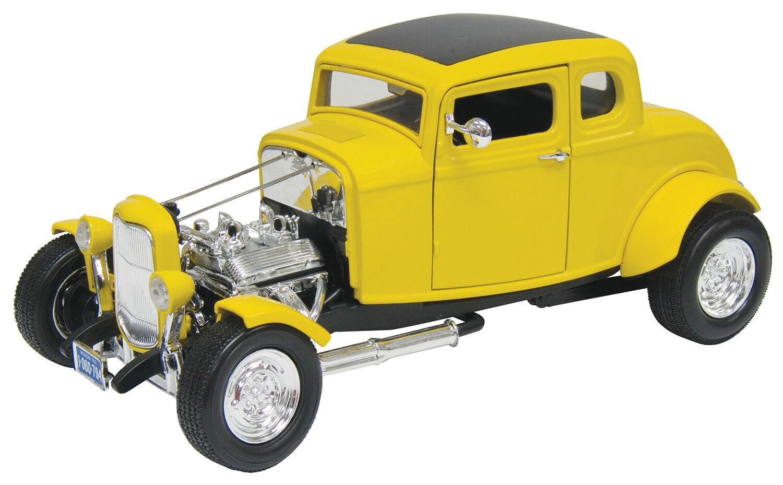 New Motormax 1932 Ford Hot Rod Gelb 1 18 -73172AC