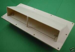 Exterior ventline v2111 11 rv range hood vent colonial white - Exterior wall vent for rv range hood ...
