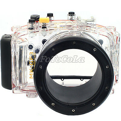 40M 130ft waterproof underwater camera housing case f Panasonic GF3 14-42mm lens
