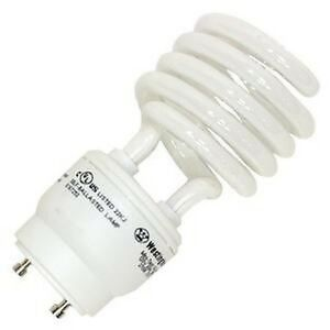 26w cfl mini spiral gu24 base 4100k cool white 120w. Black Bedroom Furniture Sets. Home Design Ideas