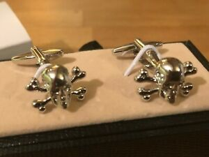 Zachary Brown Collection USA Flag Novelty Cufflinks