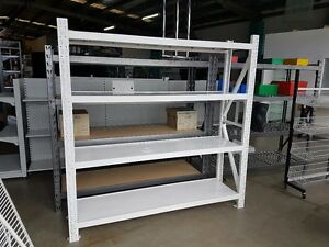BRAND-NEW-2m-x-1-5m-x-5m-Longspan-shelving-racking-grocery-shop-garage-storage