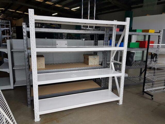 BRAND NEW 2m x 1.5m x .5m Longspan shelving racking grocery shop garage storage