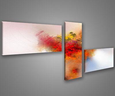 Quadri moderni astratti 180 x 70 stampe su tela canvas con telaio MIX-S/_61