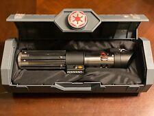 Star Wars Disney Galaxy's Edge Darth Vader Legacy Lightsaber Hilt & Mystery Pin