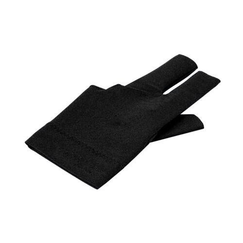 AS/_ Billiard Elastic Anti-slip Snooker Cue Pool Shooters Three Fingers Gloves To